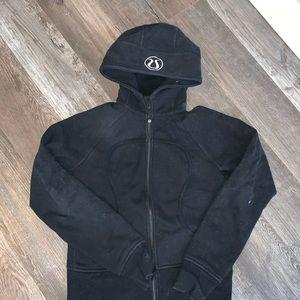 Black Lululemon scuba sweater